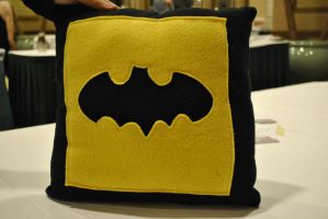 Batman Pillow by nenfere