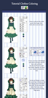 Sai Tutorial: Clothes Coloring by VermeilleRose