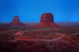 Monument Valley sunset view by esee
