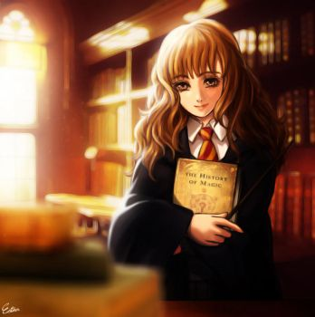 Hermione Granger by Esther-Shen