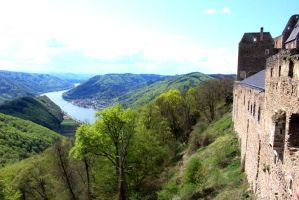 Castle Ruine Aggstein by chaosqueen122