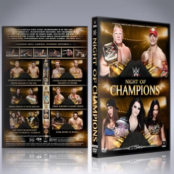 WWE Night of Champions 2014 by Spacehoper29