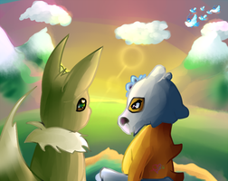 Romantic  View by Gokai-Chibi