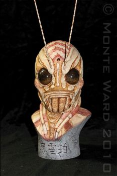 Manhopper 1:2 resin bust by dreggs88