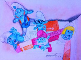 The Smurfs by Simone93