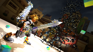 Kingdom Hearts II by James--C