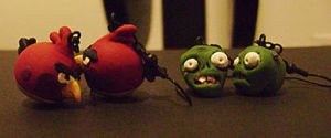 AB and PvZ Earrings by jmillgraphics