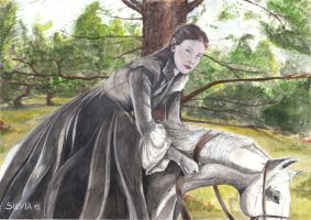 Arwen in the shade by SilviaDiMauro