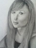 My drawing of Molly Quinn... :) by NocteLuxStella