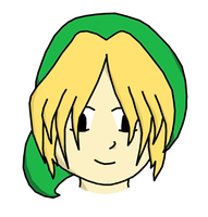 My first proper try with drawing Link by WhizzPop