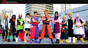 Dragonball Z warriors Cosplay by jeffbedash325
