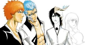 Bleach- One Direction w.i.p. 2 by bisous-noirs