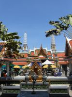Thailand- Temple of the Emerald Buddha by somekindofgeri