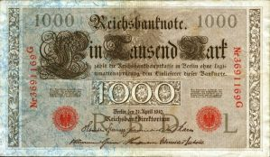 banknotes - GERMANY no.3 by gapystock