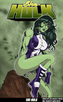 She Hulk By Lcfreitas by jamesewelch