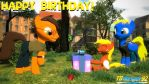 Birthday wishes to WallyReloaded by TBWinger92