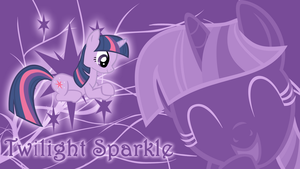 Study is Important - Twilight Sparkle Wallpaper by cradet
