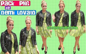 Pack PNG Demi Lovato. by angela-imagination