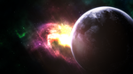 The unseen Universe (Wallpaper) by Hardii