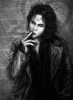 Ville Valo - Won't You Die Tonight For Love by SarembaArt