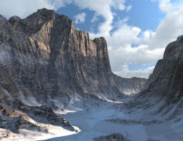 Snowy Canyon by crphz