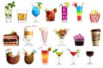 Commision Drinks by Ekimma