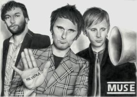Muse. How Much Deception Can You Take? by MarysDrawing