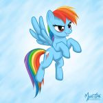 Rainbow Dash Flying 02 by mysticalpha