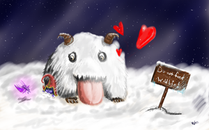 Help, Pix! Poro attack! by VVit