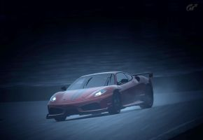 Ferrari - powersliding by MercilessOne