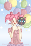 Chibiusa-Balloons by lemontree11