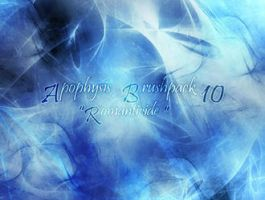 APOPHYSIS BRUSH PACK by illustratorcs6