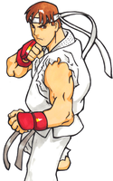 Street Fighter Alpha :Ryu by GrannyandStu