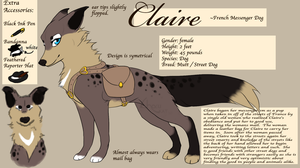 ++Claire Reference++ by Chocukat