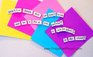 The Daily Magnet #255 by FridgePoetProject