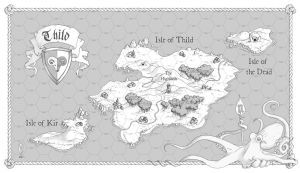 Thild Hex Crawl Map by arsheesh