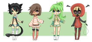 Randommmmmmmmm Adopts {Closed - thanks!} by Ruruuni