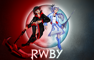 Red and White: RWBY Fanart by ChronoPinoyX
