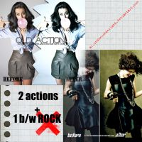 ROCK 'ND' ROLL ACTIONS by alyinthewonderland