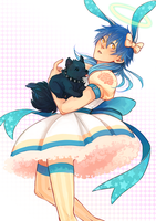 actual magical girl aoba seragaki by mintlark
