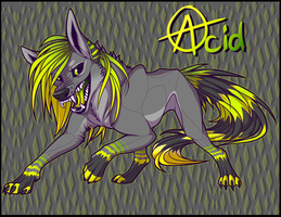 Acidwolf by wingedwolf94