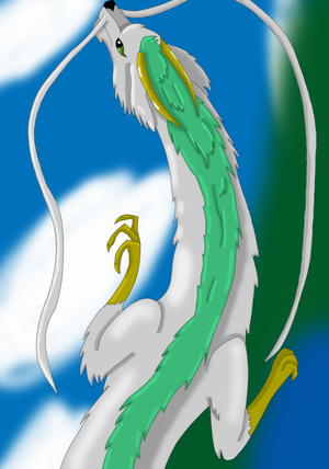 Spirited+away+haku+dragon+