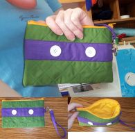 Donatello Clutch by BunnieBard
