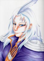 FFIX - Kuja Portrait by Midnight-Dark-Angel
