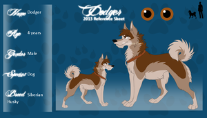 Dodger Reference Sheet 2013 by Aiyana-Kopa
