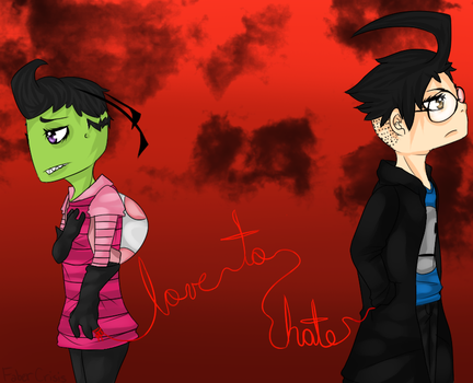 Love To Hate by FaberCrisis