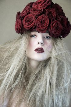 My red rose hat by Muse1908