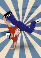 Vectorial Breakdance by BitumeX
