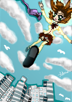 Falling from the sky by PieChan34-Creations