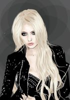 Taylor Momsen vector by love-on-a-stick
